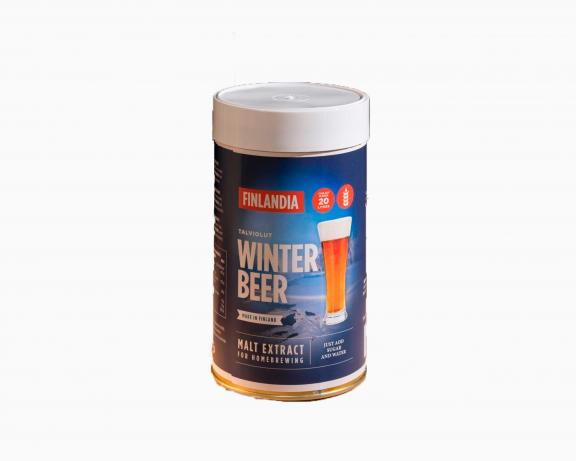 Пивной набор Finlandia Winter Beer, банка 1,5 кг, Senson Oy, Финляндия